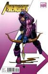 Cover for Avengers (Marvel, 2010 series) #4 [Romita Jr.'s Hawkeye Variant ]