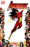 Cover for Avengers (Marvel, 2010 series) #4 [Women of Marvel Variant]