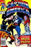 Cover for Captain America (Marvel, 1968 series) #411 [Newsstand Edition]