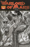 "Cover for Warlord of Mars (Dynamite Entertainment, 2010 series) #1 [""Black & White"" retailer incentive cover]"