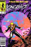 Cover for Longshot (Marvel, 1985 series) #1 [Canadian]