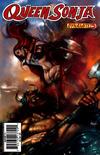 Cover for Queen Sonja (Dynamite Entertainment, 2009 series) #5 [Lucio Parrillo Cover]
