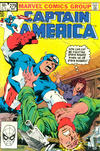 Cover for Captain America (Marvel, 1968 series) #279 [Direct]