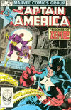 Cover for Captain America (Marvel, 1968 series) #277 [Direct]