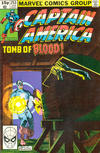Cover Thumbnail for Captain America (1968 series) #253 [British]
