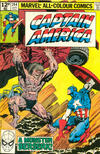 Cover for Captain America (Marvel, 1968 series) #244 [British]