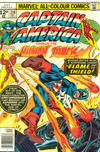 Cover for Captain America (Marvel, 1968 series) #216 [British Price Variant]