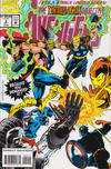 Cover for Avengers: The Terminatrix Objective (Marvel, 1993 series) #2 [Direct Edition]