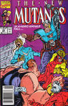 Cover Thumbnail for The New Mutants (1983 series) #89 [Newsstand Edition]