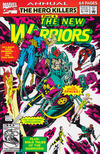 Cover Thumbnail for The New Warriors Annual (1991 series) #2 [Direct]