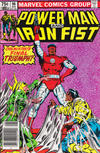 Cover Thumbnail for Power Man and Iron Fist (1981 series) #96 [newsstand 75¢ edition]