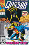 Cover for Quasar (Marvel, 1989 series) #12 [Direct]