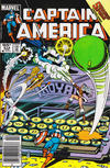 Cover Thumbnail for Captain America (1968 series) #314 [Canadian Newsstand Edition]