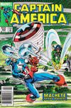 Cover for Captain America (Marvel, 1968 series) #302 [Newsstand Edition]