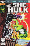 Cover for The Savage She-Hulk (Marvel, 1980 series) #3 [Direct]