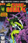 Cover for The Savage She-Hulk (Marvel, 1980 series) #7 [Direct]