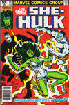 Cover for The Savage She-Hulk (Marvel, 1980 series) #12 [Newsstand]