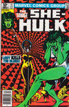 Cover for The Savage She-Hulk (Marvel, 1980 series) #15 [Newsstand]