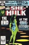 Cover for The Savage She-Hulk (Marvel, 1980 series) #25 [Direct]