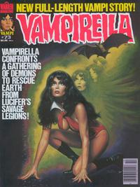 Cover for Vampirella (Warren, 1969 series) #73