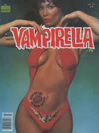 Cover for Vampirella (Warren, 1969 series) #78