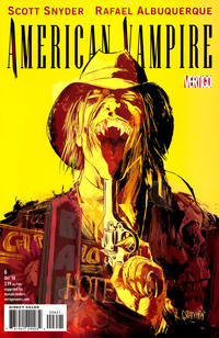 Cover Thumbnail for American Vampire (DC, 2010 series) #6 [Variant Cover (1 in 25)]