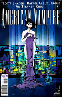 Cover Thumbnail for American Vampire (DC, 2010 series) #5 [Variant Cover (1 in 25)]
