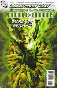Cover Thumbnail for Green Lantern: Emerald Warriors (DC, 2010 series) #3 [Felipe Massafera Variant Cover]