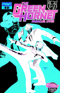 Cover Thumbnail for Green Hornet: Parallel Lives (Dynamite Entertainment, 2010 series) #1 [Negative Art]