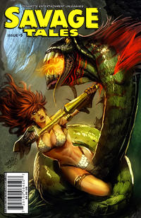 Cover Thumbnail for Savage Tales (Dynamite Entertainment, 2007 series) #5 [Pablo Marcos Cover]