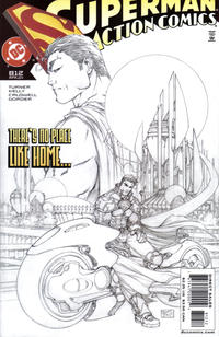 Cover Thumbnail for Action Comics (DC, 1938 series) #812 [2nd Printing Sketch Cover]