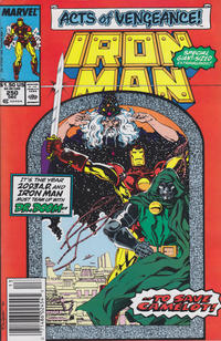 Cover Thumbnail for Iron Man (Marvel, 1968 series) #250 [Newsstand]