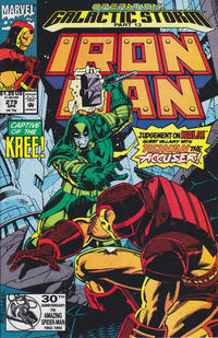 Cover Thumbnail for Iron Man (Marvel, 1968 series) #279 [Direct Edition]