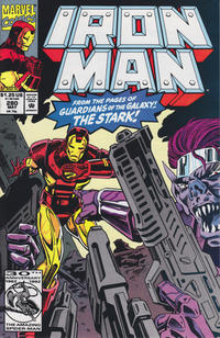 Cover for Iron Man (Marvel, 1968 series) #280 [Direct Edition]
