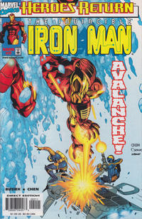 Cover Thumbnail for Iron Man (Marvel, 1998 series) #2 [Direct Edition]