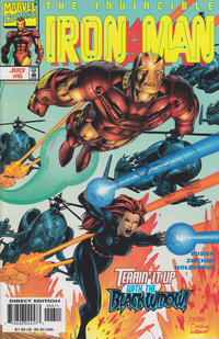 Cover Thumbnail for Iron Man (Marvel, 1998 series) #6 [Direct Edition]