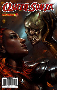Cover Thumbnail for Queen Sonja (Dynamite Entertainment, 2009 series) #6 [Lucio Parrillo Cover]