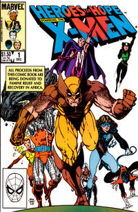 Cover Thumbnail for Heroes for Hope Starring The X-Men (Marvel, 1985 series) #1 [Direct]