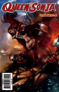 Cover Thumbnail for Queen Sonja (Dynamite Entertainment, 2009 series) #5 [Lucio Parrillo Cover]