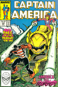 Cover Thumbnail for Captain America (Marvel, 1968 series) #339 [Direct Edition]