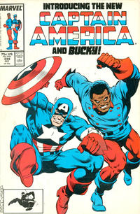 Cover Thumbnail for Captain America (Marvel, 1968 series) #334 [Direct Edition]
