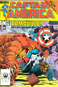Cover Thumbnail for Captain America (Marvel, 1968 series) #308 [Direct Edition]