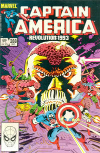Cover Thumbnail for Captain America (Marvel, 1968 series) #288 [Direct Edition]