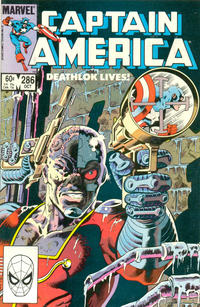 Cover Thumbnail for Captain America (Marvel, 1968 series) #286 [Direct Edition]