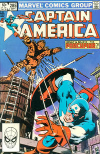 Cover Thumbnail for Captain America (Marvel, 1968 series) #285 [Direct Edition]