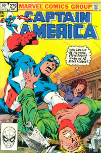 Cover Thumbnail for Captain America (Marvel, 1968 series) #279 [Direct Edition]