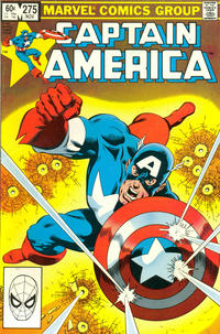 Cover for Captain America (Marvel, 1968 series) #275 [Direct Edition]