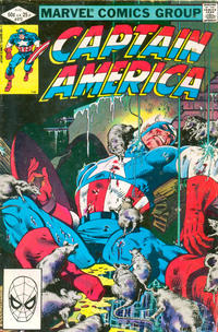 Cover for Captain America (Marvel, 1968 series) #272 [Direct Edition]