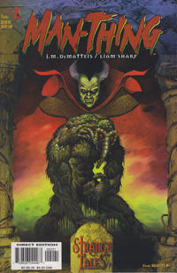 Cover for Man-Thing (Marvel, 1997 series) #2 [Variant Edition]