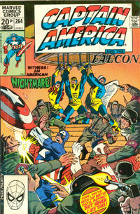 Cover Thumbnail for Captain America (Marvel, 1968 series) #264 [British Price Variant]